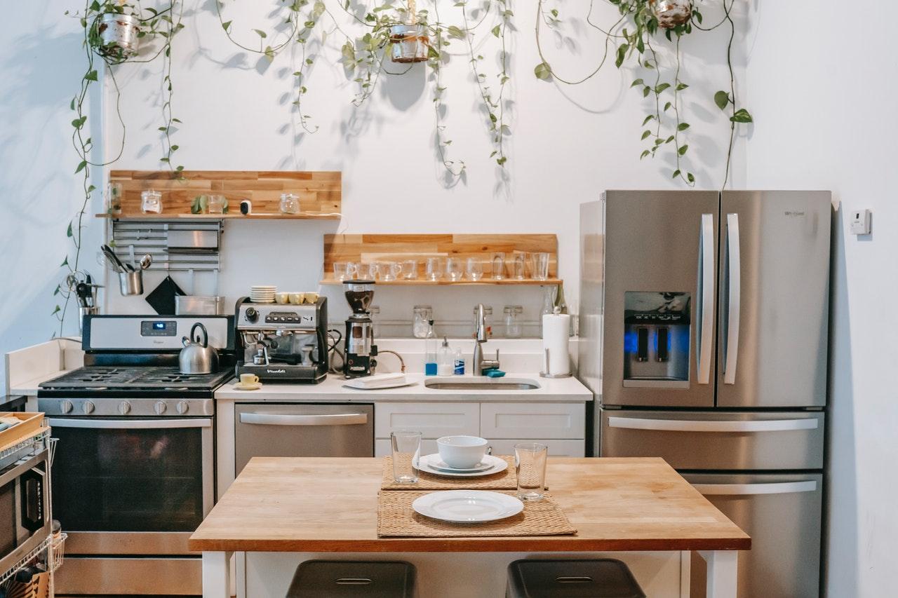 well-organized kitchen