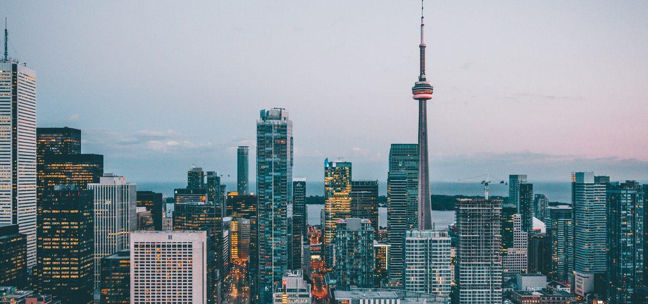 view of big city