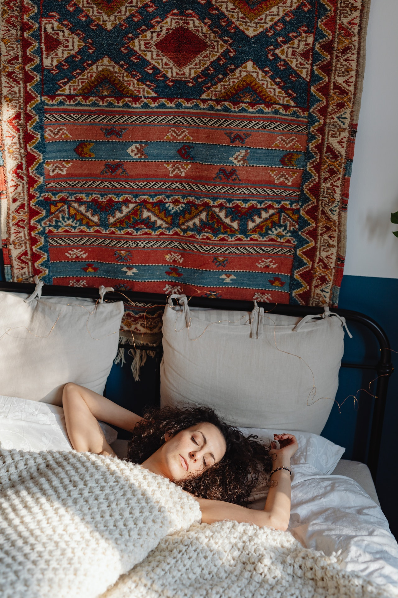 quilt in bedroom