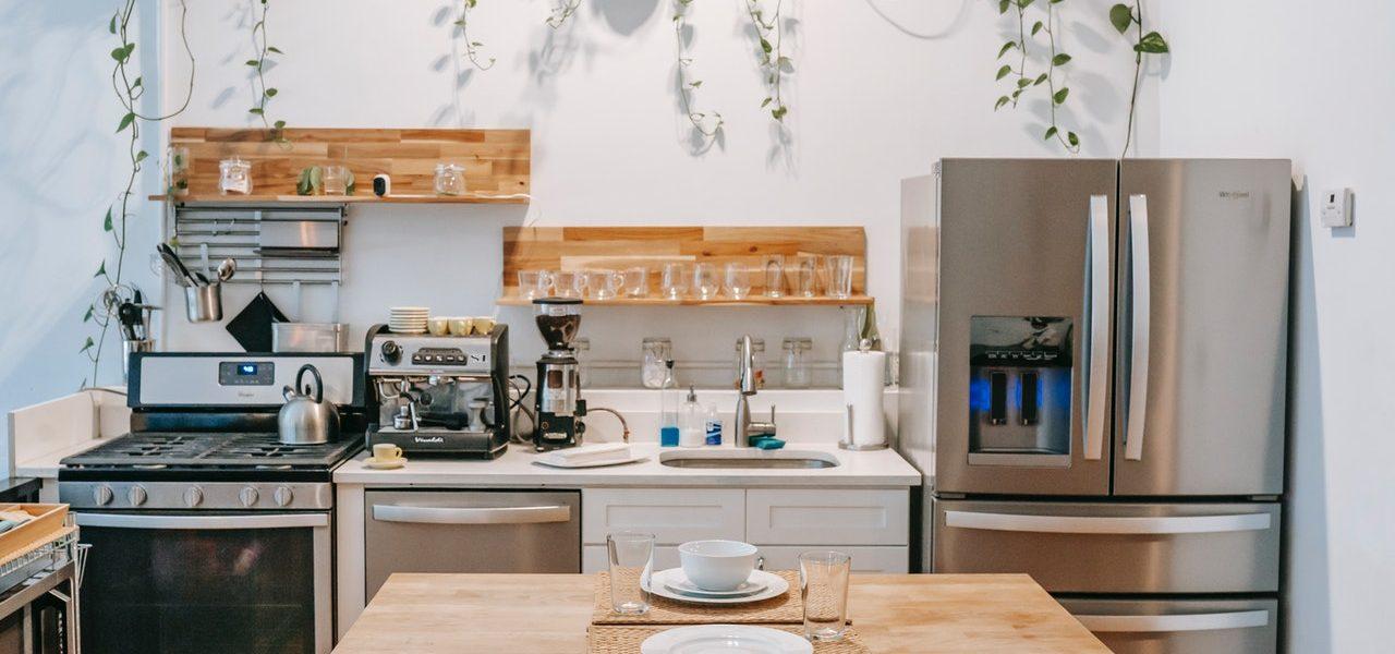 small renovated kitchen